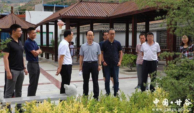 民革甘肃省委员会调研甘谷县乡村振兴战略实施情况